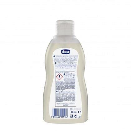 Chicco, Detergent  pentru biberoanele si vesela bebelusului 0m+, 300ml