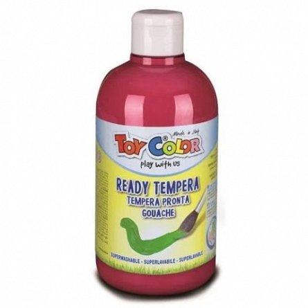 Tempera Toy Color superlavabila, 250 ml, rosu