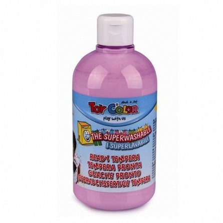 Tempera Toy Color superlavabila, 500 ml, lila pastel