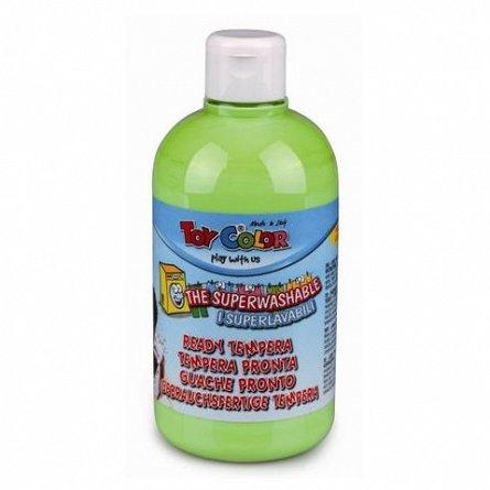 Tempera Toy Color superlavabila, 500 ml, verde crud pastel
