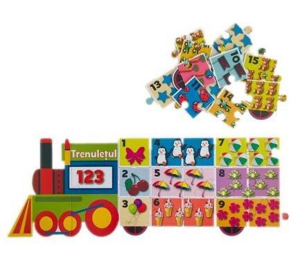 Puzzle educativ, Trenuletul 123
