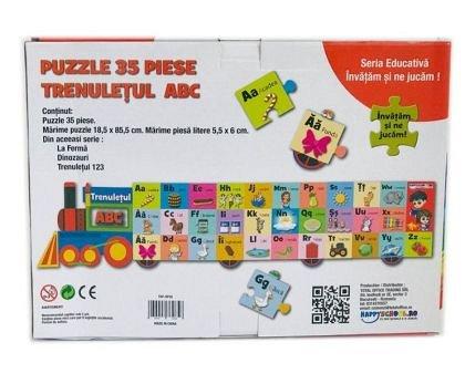 Puzzle educativ, Trenuletul abc