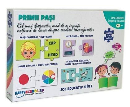 Joc Primii pasi, 4 in 1, Happyschool