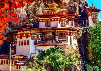 Puzzle Bluebird - Taktsang, Bhutan, 500 piese (70013)