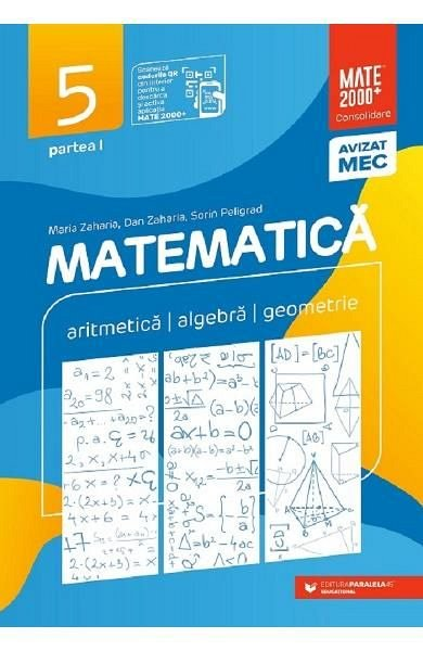 MATEMATICA. CONSOLIDARE CLASA 5 PARTEA 1