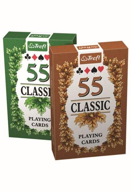 Carti de joc Trefl - model clasic 55 carti/pachet