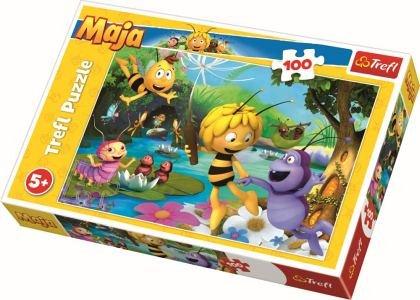 Puzzle Trefl - Albinuta Maya si prietenii, 100 piese