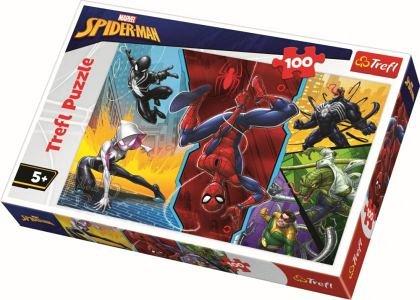 Puzzle Trefl - Spider-Man, 100 piese