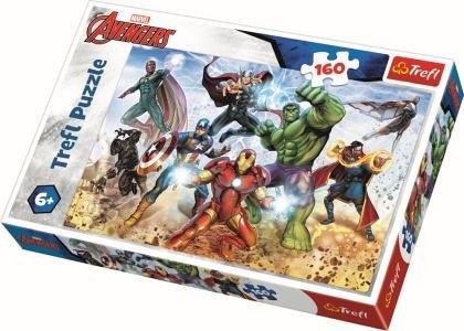 Puzzle Trefl - Pregatit pentru salvarea lumii, 160 piese