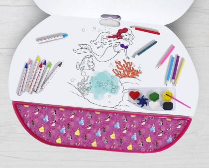 Set pentru desen 5 in 1 As Art - Giga Block, Disney Princess