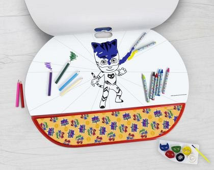 Set pentru desen 5 in 1 As Art - Giga Block, Eroi in Pijamale