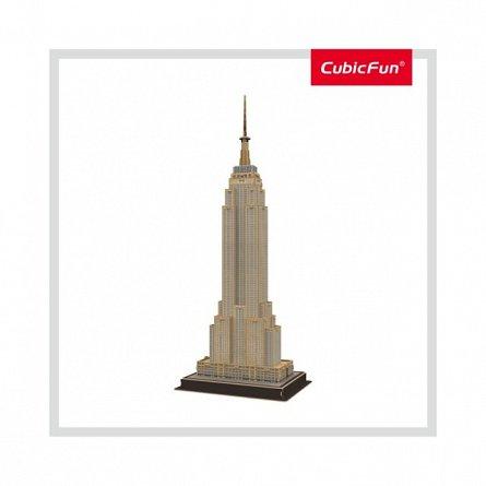 Puzzle 3D CubicFun - Empire State Building, 54 piese