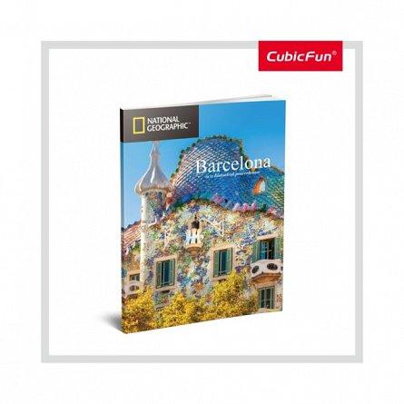 Puzzle 3D CubicFun - Sagrada Familia + Brosura, 184 piese