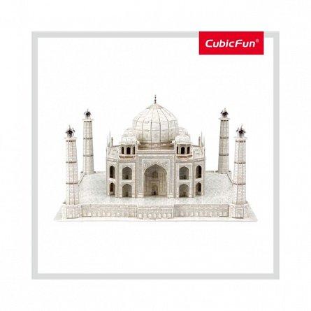 Puzzle 3D CubicFun - Taj Mahal + Brosura, 87 piese