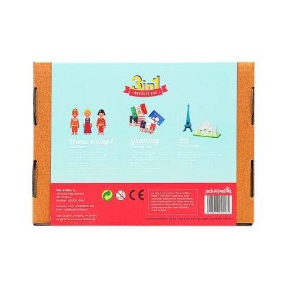 Kit creatie 3-in-1 JackInTheBox - In jurul lumii