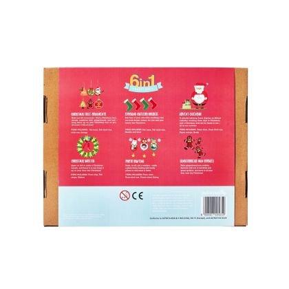 Kit creatie 6-in-1 JackInTheBox - Craciun fericit