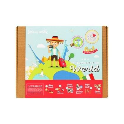 Kit creatie 6-in-1 JackInTheBox - In jurul lumii
