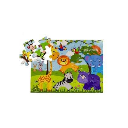 Kit creatie 6-in-1 JackInTheBox - Safari in jungla