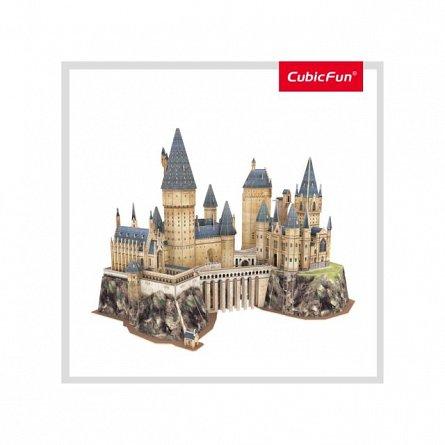 Puzzle 3D CubicFun - Harry Potter - Castelul, 197 piese
