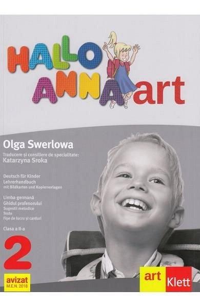 HALLO ANNA LIMBA GERMANA CLASA 2 GHIDUL PROFESORULUI + CD
