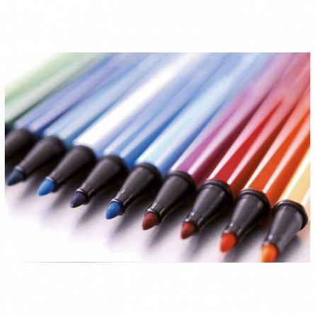 Marker pt copii Stabilo Pen68,6b/set,fluor.