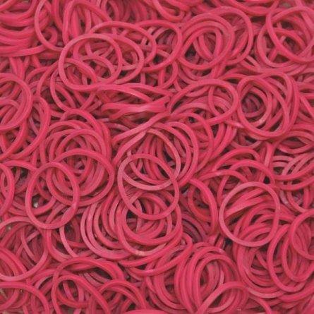 Elastice Rainbow Loom - Standard Fuschia, 600 buc