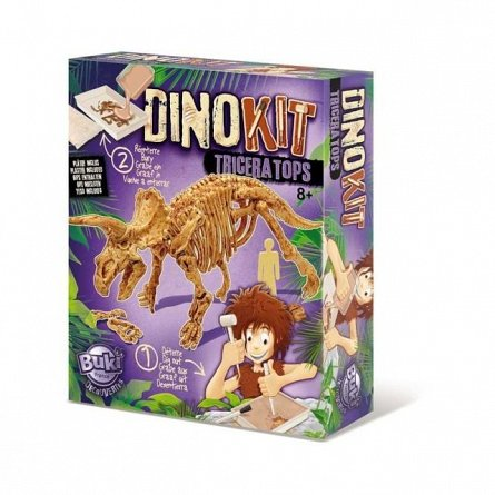 Dino Kit Buki France - Triceratops