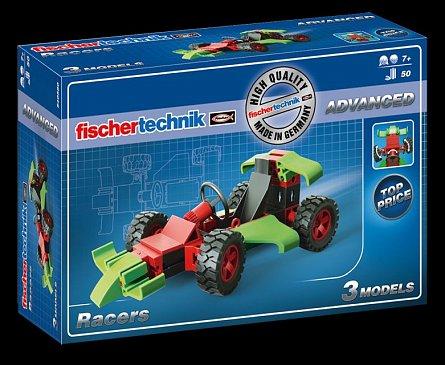 Set constructie Fischertechnik Advanced - Racers, 3 modele