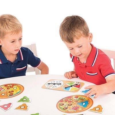 Joc educativ Pizza Pizza, Orchard Toys