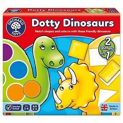 Joc educativ Dinozaurii cu pete, Orchard Toys