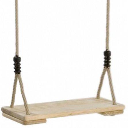 Leagan KBT cu sezut din lemn  PP10, 2.5 m