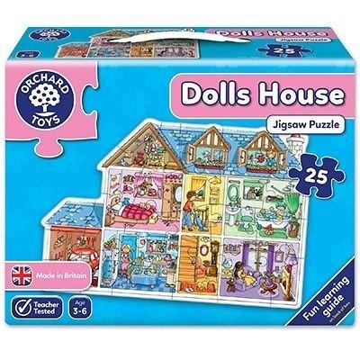 Puzzle de podea Casa, 25 piese, Orchard Toys