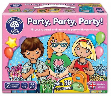 Joc de societate La petrecere, Orchard Toys