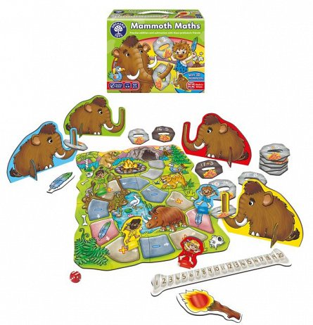 Joc educativ Matematica Mamutilor, Orchard Toys