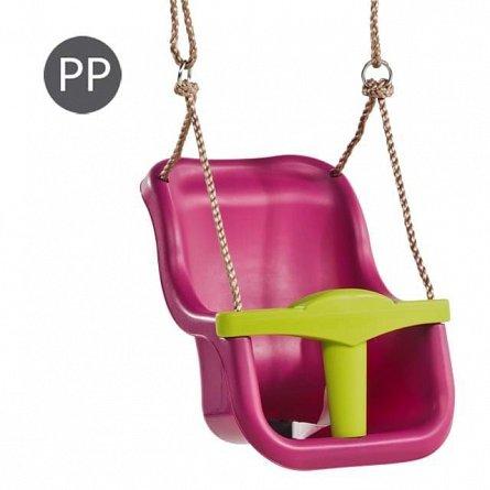 Leagan KBT - Baby Seat Luxe, franghie PP 10, Purple
