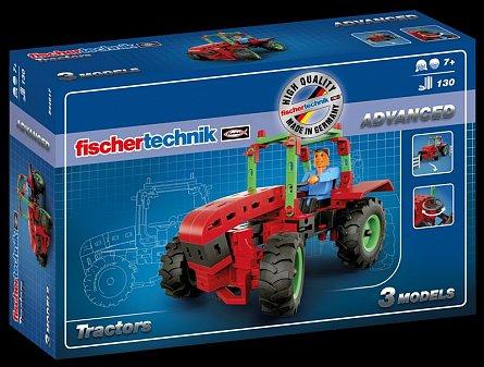 Set constructie Fischertechnik Advanced - Tractors, 3 modele
