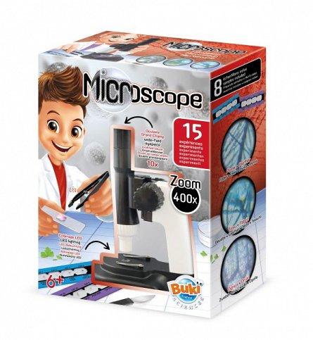Microscop Buki France - 15 experimente