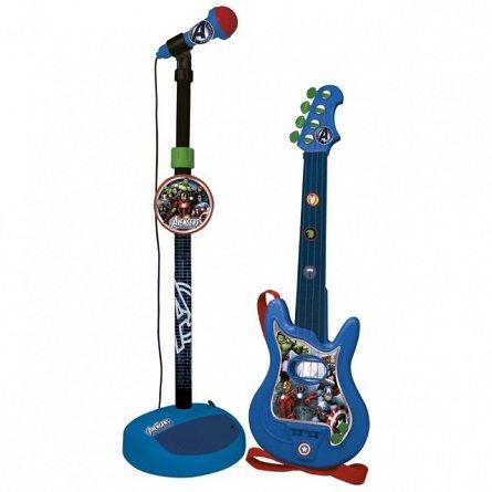Set chitara si microfon Reig Musicales Avengers
