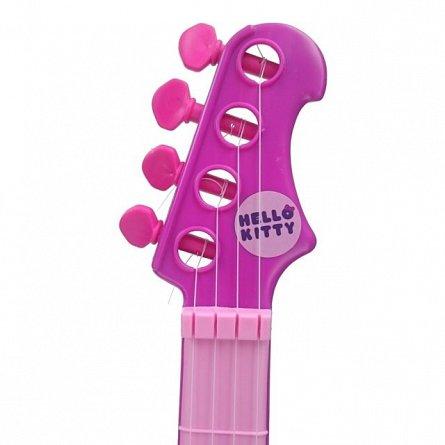 Set chitara si microfon Reig Musicales Hello Kitty