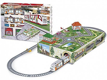 Trenulet electric Pequetren City Metro
