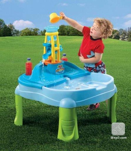 Masuta de joaca cu apa si nisip Step2 Splash N Scopp Bay