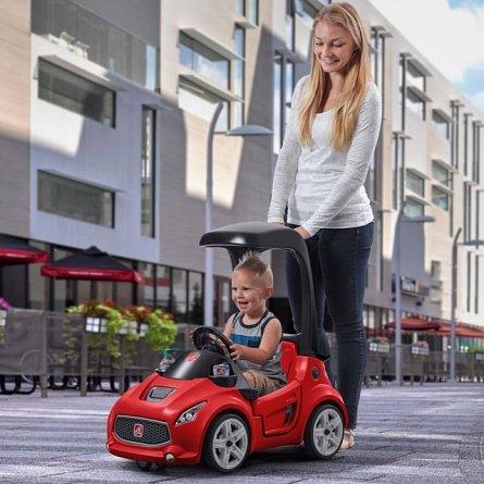 Masinuta copii Step2 Turbo Coupe Foot-to-Floor, Rosie