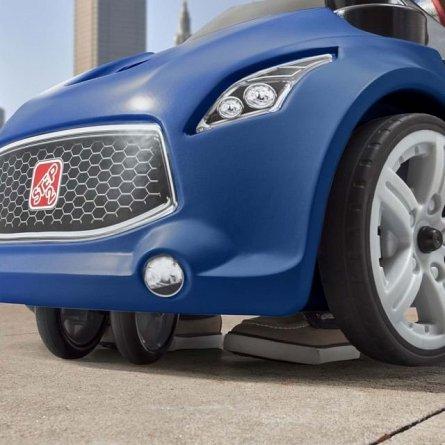 Masinuta copii Step2 Turbo Coupe Foot-to-Floor, Albastra