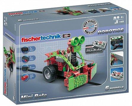 Set constructie Fischertechnik Robotics - Mini Bots