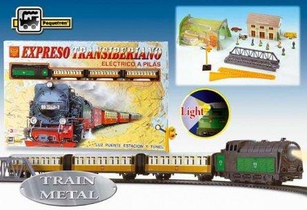 Trenulet electric calatori Pequetren Expresul Transiberian