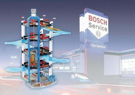 Parcare Klein Bosch cu 5 nivele
