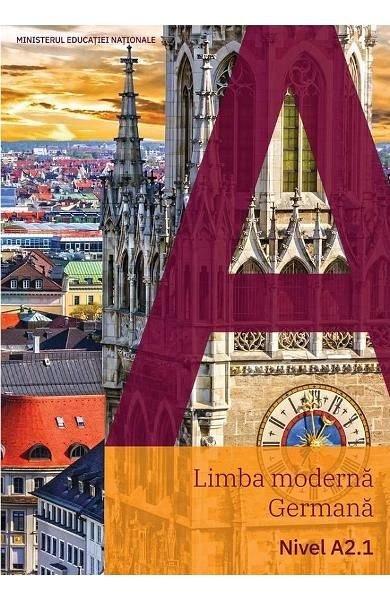LIMBA MODERNA GERMANA. NIVEL A2.1. MANUAL