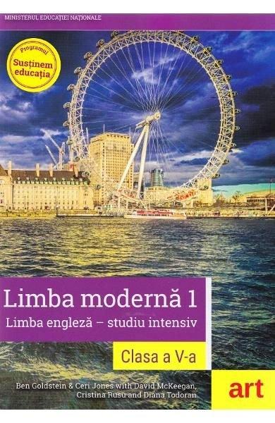 LIMBA ENGLEZA INTENSIV. CLASA 5. MANUAL + CD LIMBA MODERNA 1
