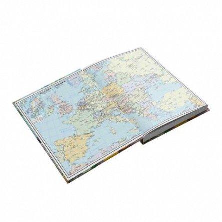 Agenda A5, datata 2021, Zentangle, 352 pagini, motiv Mediteranean