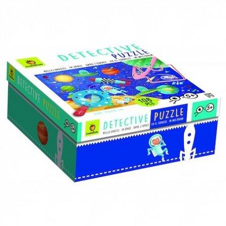 Puzzle Micul Detectiv - Spatiul, 108 piese